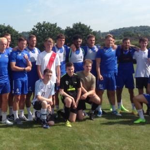 U18 visit Bristol Rovers